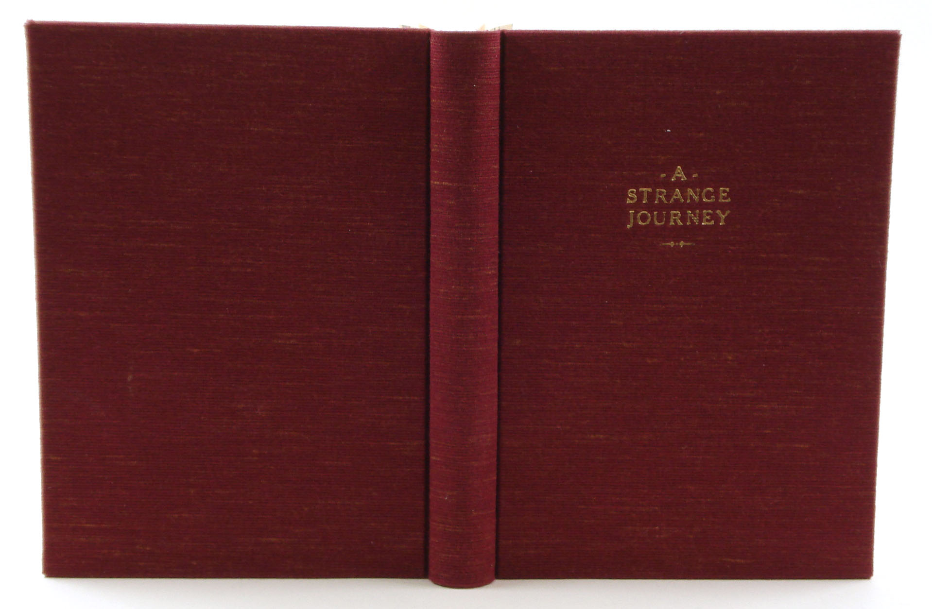 Case Bound Book Cover Material : Cases pt work of the hand by henry hébert