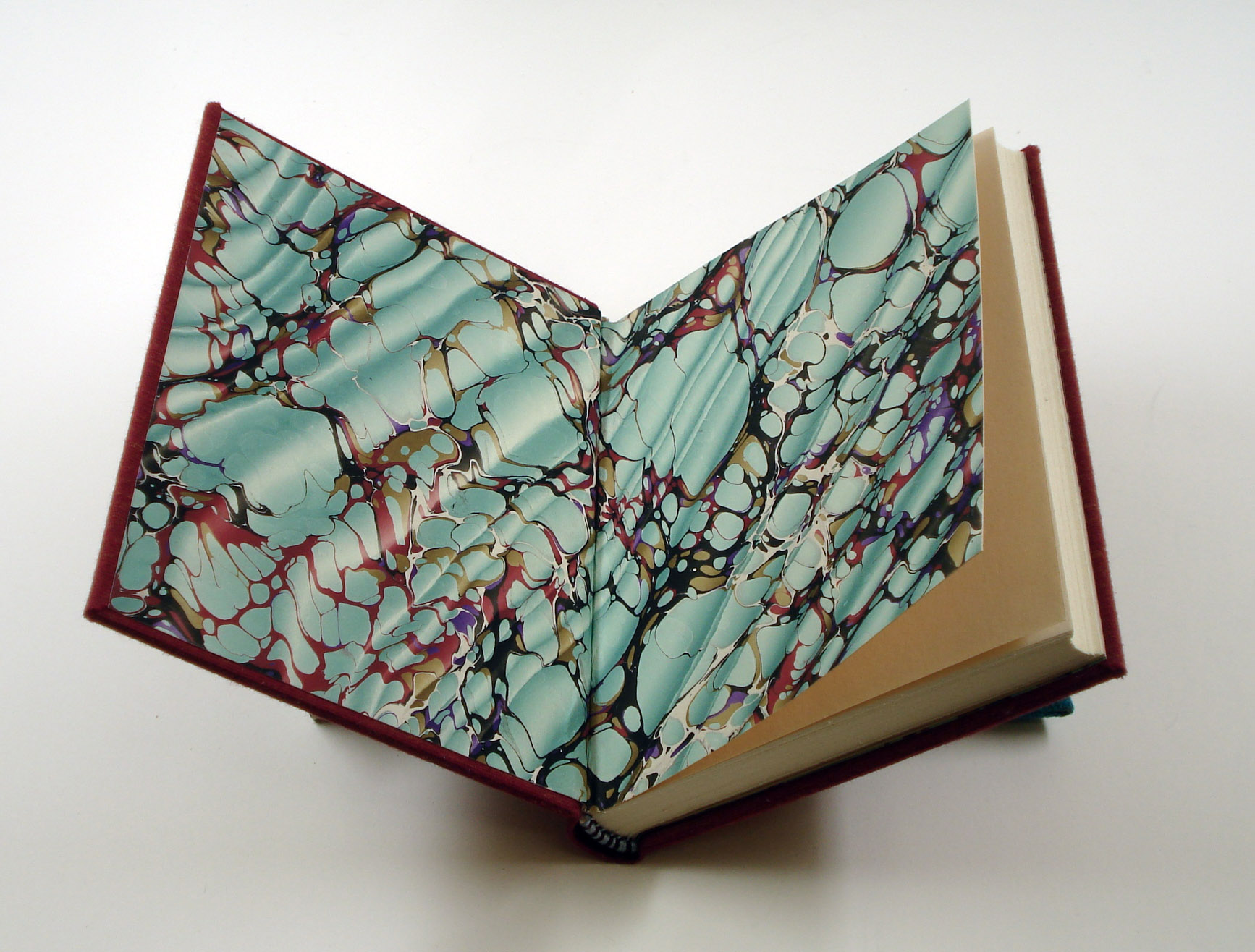 binding papers into a book