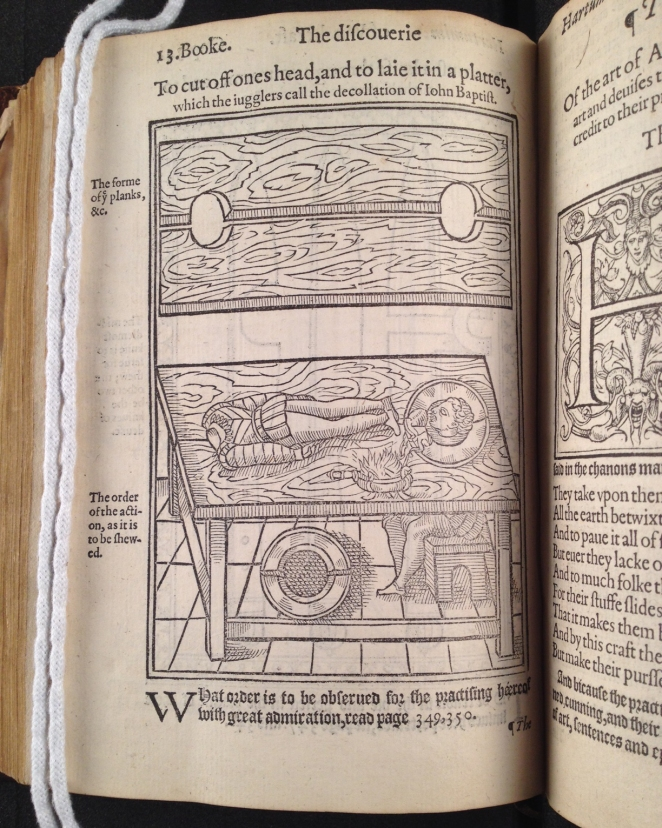 Reginald Scot's The Discoverie of Witchcraft, 1584