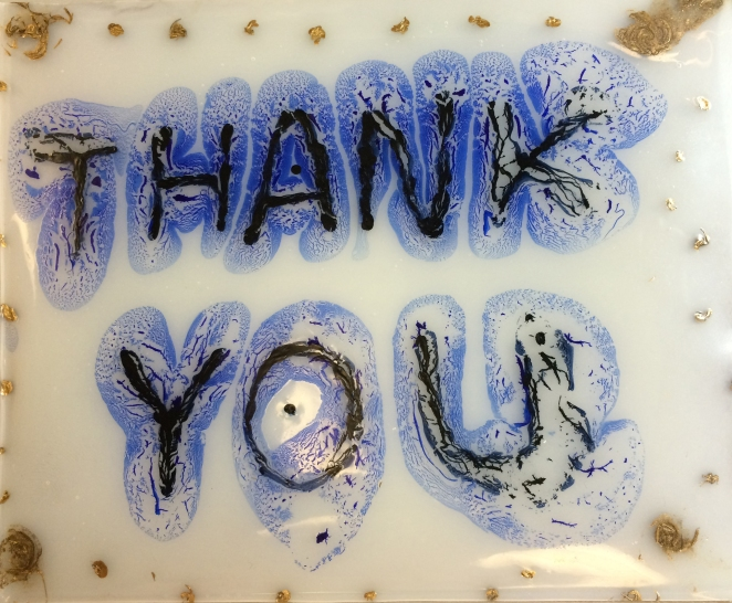horie thank you card dry