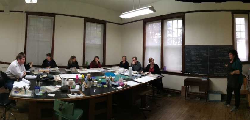 Pre-Coated Repair Materials Workshop at the Campbell Center for Historic Preservation Studies